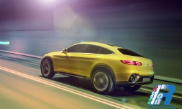 Anteprima italiana di Mercedes-Benz Concept GLC Coupé