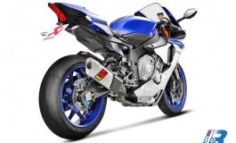 Yamaha YZF-R1: prestazioni da corsa mai raggiunte con Akrapovič
