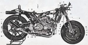 06 Honda NR 500