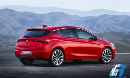 Nuova Opel Astra: Leggera, anzi leggerissima