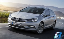 Opel Astra Sports Tourer in anteprima mondiale