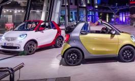 Nuova Smart Fortwo Cabrio: nata per essere un cult
