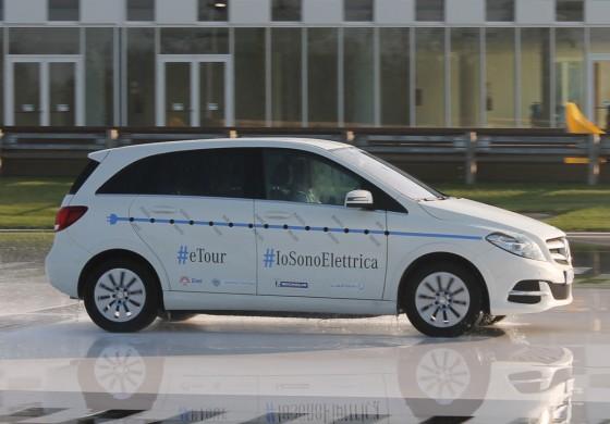 Mercedes e ACI: il futuro è sostenibilità, il futuro è smart - Alla prova di Classe B Electric Drive