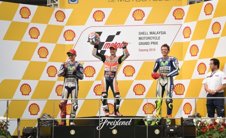 MotoGp Sepang: Pedrosa trionfa, Lorenzo segue… Rossi terzo ma si apre il caso Marquez