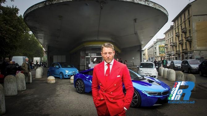 Lapo elkann e garage italia customs inaugurano la nuova - Garage italia lapo ...