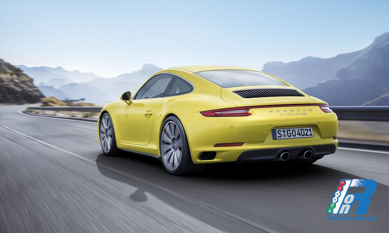 Porsche 911 Carrera 4 E 911 Targa 4 Con Motori Turbo E Nuova Trazione Integrale Italiaonroad