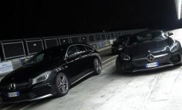 Prova CLA Night e Dark Night - In pista ad Halloween con CLA 45 AMG e GT S AMG