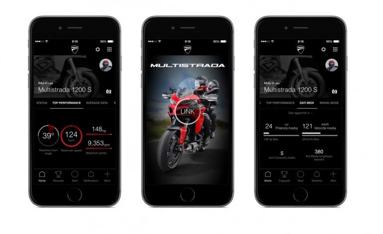 Arriva Multistrada Link, nuova app by Ducati per un'esperienza di guida ancora più moderna