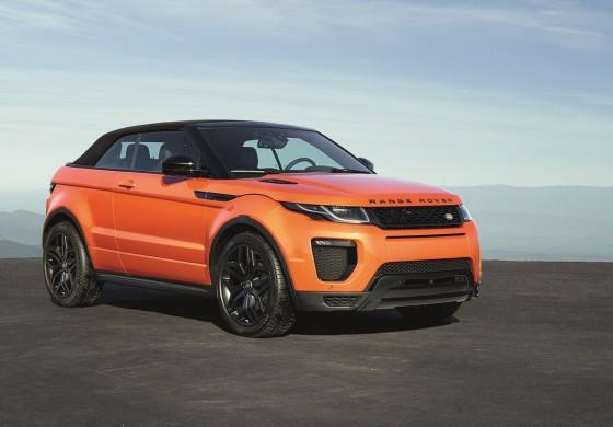 Range Rover Evoque Convertibile - Una Evoque per tutte le stagioni