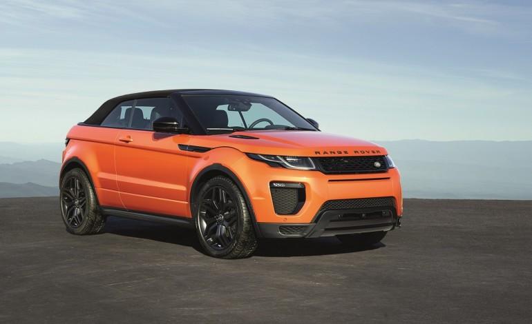 Range Rover Evoque Convertibile – Una Evoque per tutte le stagioni