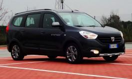 Prova Dacia Lodgy: spazio al multiutilizzo