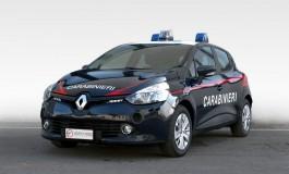 Una flotta di Renault Clio per l'arma dei carabinieri