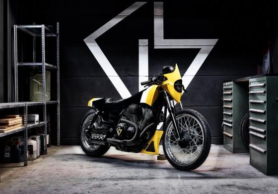 "Yamaha svela la nuova Yard Built XV950 ""Ultra"" by GS Mashin"