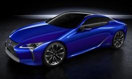 Lexus LC 500h World Premiere
