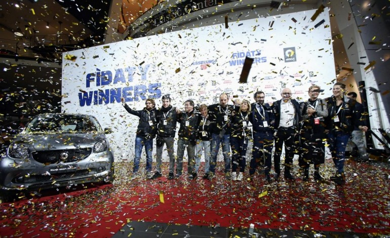 Smart consegna 912 forfour Fidaty ed insieme ad Esselunga entra nel Guinness World Record