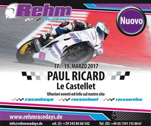 Rehm Race Days