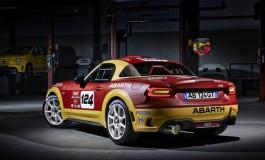 La nuova Abarth 124 Rally