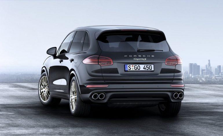 Porsche Cayenne Platinum Edition e non servono altre parole per descriverla