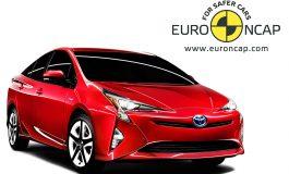 La nuova Toyota Prius ottiene le 5 stelle ai test Euro NCAP