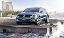 Un SUV hi-tech che indica la visione della Volkswagen dei SUV premium