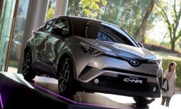 Nuova Toyota C-HR: presentata al Fuorisalone per l'anteprima italiana