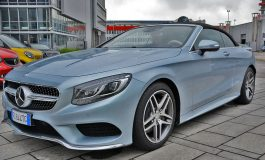 Prova Mercedes Classe S500 Cabrio, direzione Mille Miglia - primo contatto