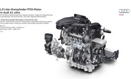 Debutta su A3 l'innovativo motore benzina 1.0 TFSI