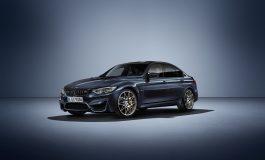 """Edizione speciale esclusiva della BMW M3 """"30 JAHRE M3"""""""