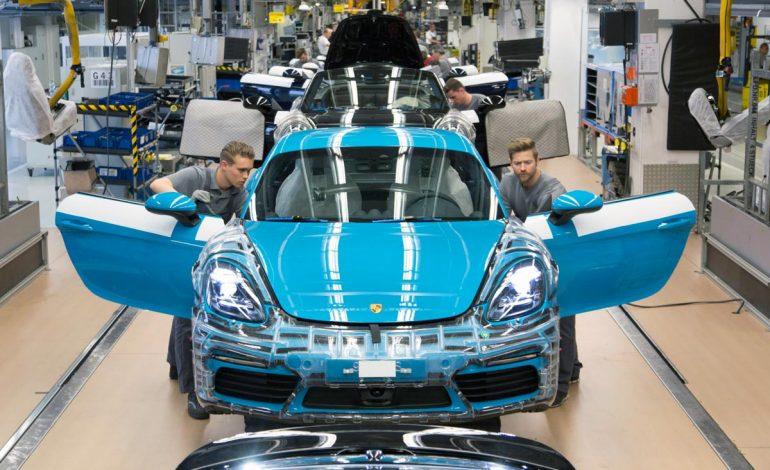Avvio di produzione molto positivo per la nuova Porsche 718 Cayman