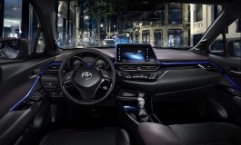 Toyota C-HR: Il nuovo crossover apre le porte e svela, per la prima volta, i suoi interni