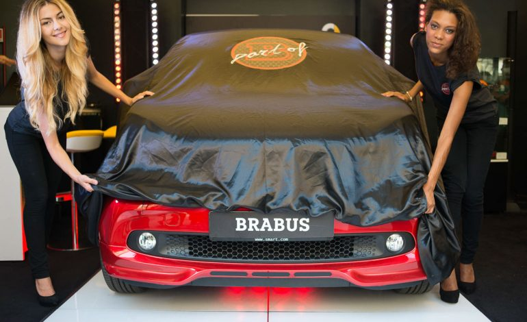 Smart BRABUS debutta all'Urban Mobility Store di Roma