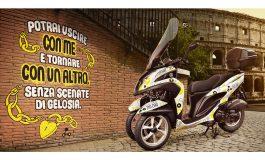 Yamaha Tricity 125 invade Roma con il nuovo servizio di scooter sharing Zig Zag