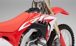 Honda CRF450R e Honda CRF450RX 2017