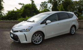Prova Toyota Prius+ l'auto ibrida da 7 posti