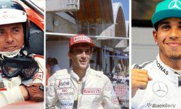 """Tre """"pilloline """" su tre grandi della Formula 1"""