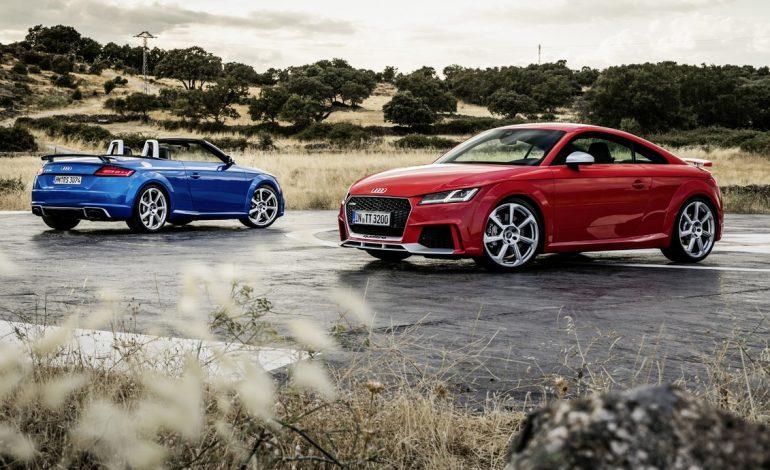 Nuove Audi TT RS Coupé e Roadster