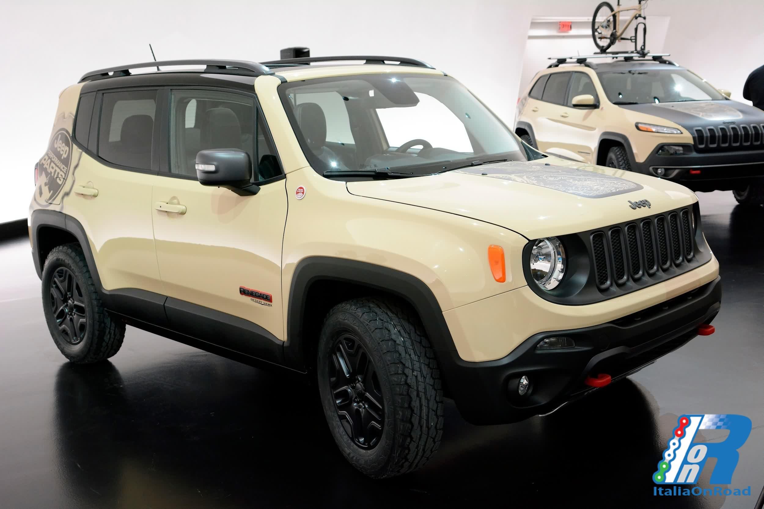 al via gli ordini della nuova jeep renegade desert hawk italiaonroad rivista italia motori. Black Bedroom Furniture Sets. Home Design Ideas