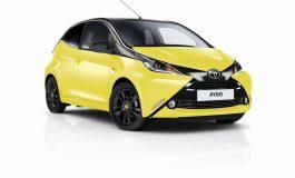 Toyota presenta la nuova Toyota Aygo x-cite Yellow