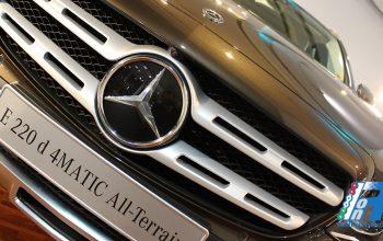 Presentazione italiana della nuova Mercedes-Benz Classe E 4MATIC All-Terrain