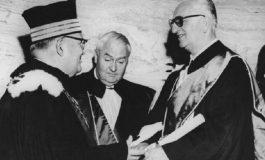 7 luglio 1960 – Enzo Ferrari viene insignito della laurea Honoris Causa