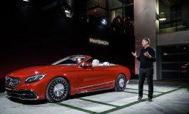 Edizione limitata per la nuova Mercedes-Maybach S 650 Cabriolet