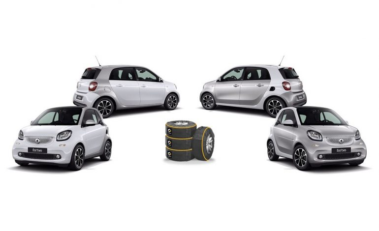 Nuove fortwo e forfour safetown