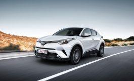 Toyota C-HR disponibile il cambio manuale sulla versione 1.2 turbo benzina