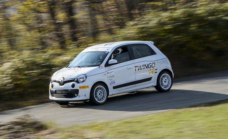 Prova Twingo R1A EVO: per un campionato Rally giovane, dinamico e potente