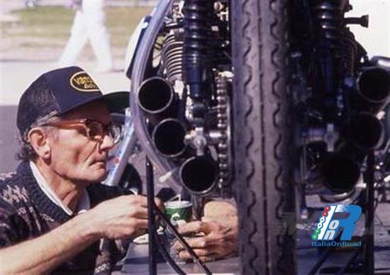 Nobby Clark, il meccanico dei campioni