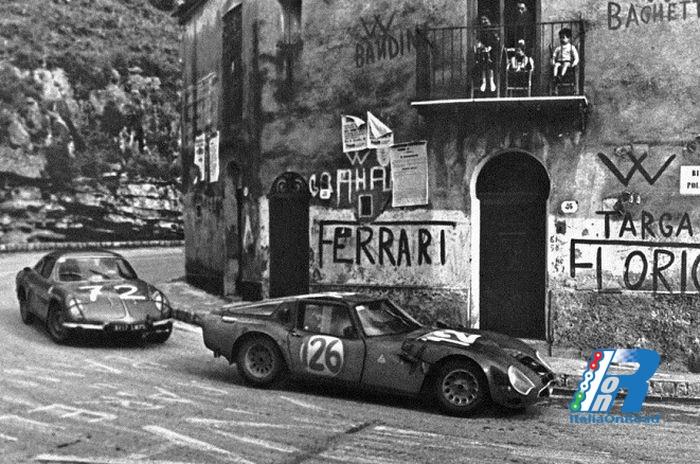 1957, le competizioni su strada vengono vietate; solo la Targa Florio si salva (Come? Perchè?)