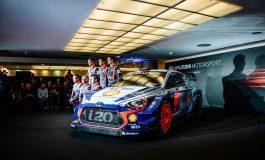 Nuova Hyundai i20 WRC 2017... pronta a scatenare l'inferno
