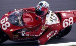 1 agosto 1993 – Carl Fogarty al GP di Gran Bretagna su CAGIVA 500