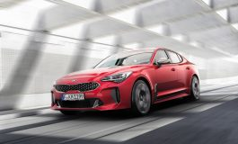 Al North American International Auto Show debutto mondiale dell'entusiasmante Kia Stinger