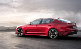 Kia Stinger finalista nei concorsi Car of the Year 2018 in Europa e in America